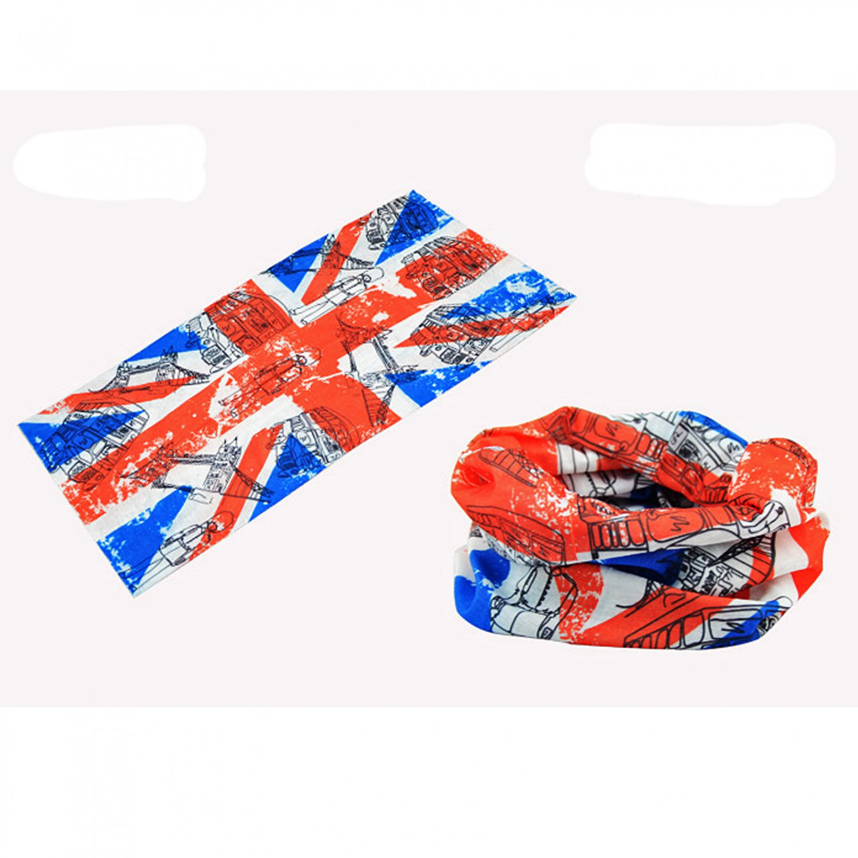 United Kingdom Flag Adult Women's Men's Cycling Hiking Scarf Bandana Bandanna Gear #13295
