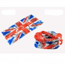 United Kingdom Flag Adult Women's Men's Cycling Hiking Scarf Bandana Bandanna Gear #13295