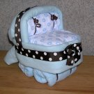 MINI DIAPER BASSINET~BABY SHOWER GIFT~GIFTS BY JAYDE