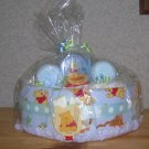 PETITE WINNIE THE POOH THEME DIAPER CAKE~GIFTS BY JAYDE