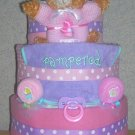 ~ELITE DELUXE DIAPER CAKE~ GIRL BOY OR NEUTRAL