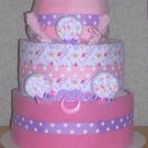 ELITE PRINCESS THEME DIAPER CAKE~ GIFTS BY JAYDE