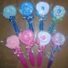WASHCLOTH LOLLIPOPS BABY SHOWER FAVOR-DIAPER CAKES
