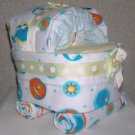 PRECIOUS PLANET DIAPER BASSINET~GIFTS BY JAYDE