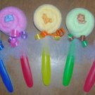 SAFARI WASHCLOTH LOLLIPOP FOR GIRL BABY SHOWER FAVOR