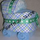 DIAPER BASSINET~BABY SHOWER GIFT~GIFTS BY JAYDE