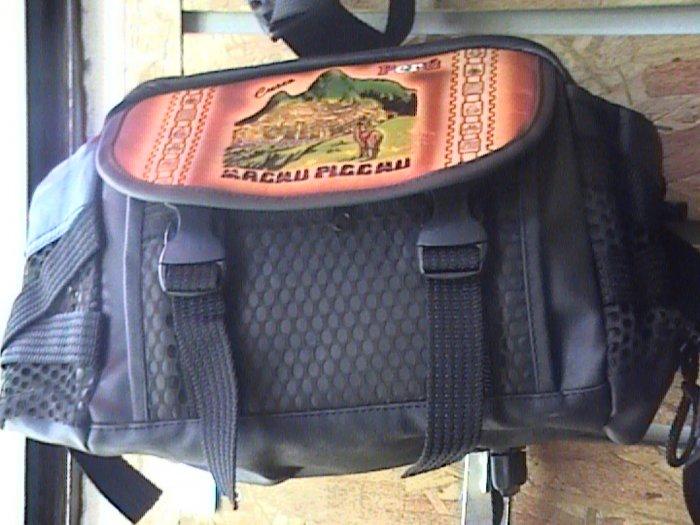 Large Leather Fannie Pack,Purse,Handbag from Cusco Peru