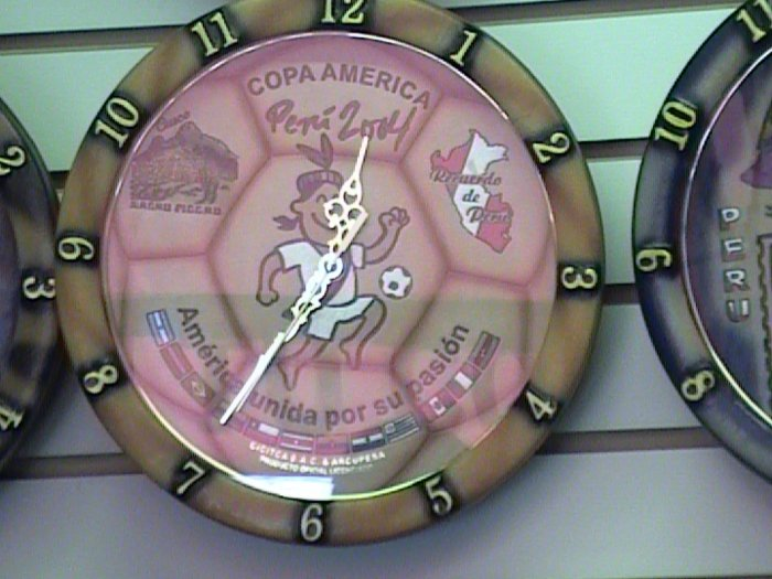New Wall Clock from Cusco Peru