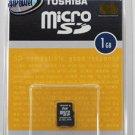 Toshiba Micro SD Trans-flash memory card 1GB