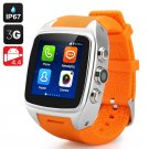 New Waterproof iMacwear SPARTA M7 Smart Watch Phone IP67 rating, Android 4.4, 3G