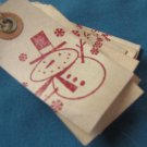 Tea stained Christmas Tags