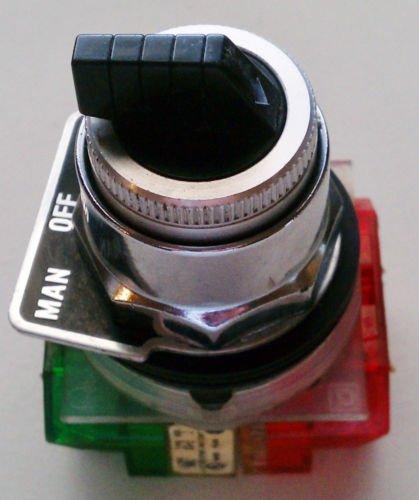 Square D 9001KA3 3 Postion Switch 30MM 9001KA2