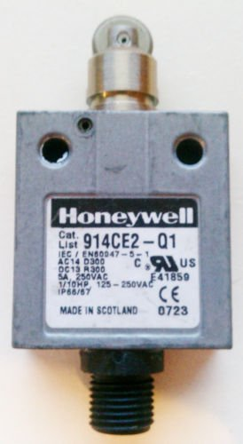 Honeywell 914CE2-Q1 Micro Limit Switch 3 Amp 250 Volt