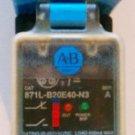 Allen Bradley 871L-B20E40-N3 Proximity Switch 400 mA