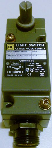 Square D 9007C54C Limit Switch Turret Head 10 Amp 600V