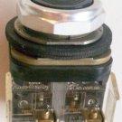 Allen Bradley 800T-A Flush Momentary Pushbutton Black