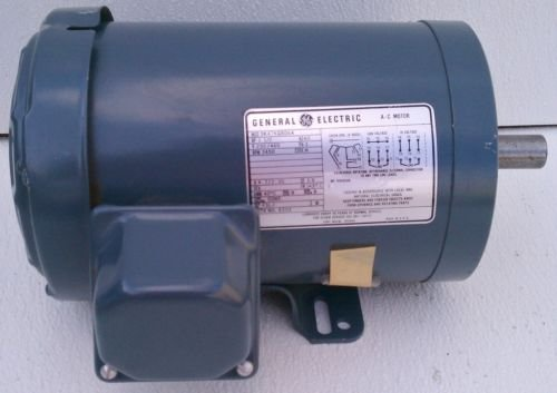 GE 5K47KG8064 Motor 1.5 HP 230/460V 3450 RPM 3 PH 143TC