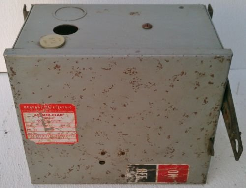 GE AC1361R Bus Plug Busway Switch 30 Amp 600 Volt 3 W