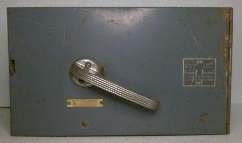 ITE V7H3204 Vacu-Break Panel Switch 3P 200 Amp 240 Volt