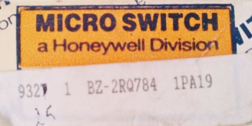 Micro Switch Honeywell BZ-2RQ784 Plunger Limit Switch