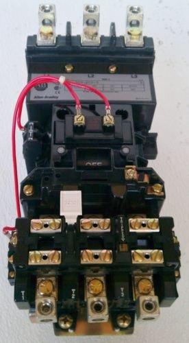New Allen Bradley 509-DOD 9 A Motor Starter Size 3 120V 25/30/50 Horse Power