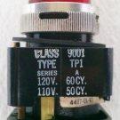 Square D 9001TP1 Series A Red Pilot Light 110/120 Volt 30 mm