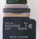 Allen Bradley 800H-PR16 Series B Pilot Light Green 120 Volt Coil Nema 4,4X,13