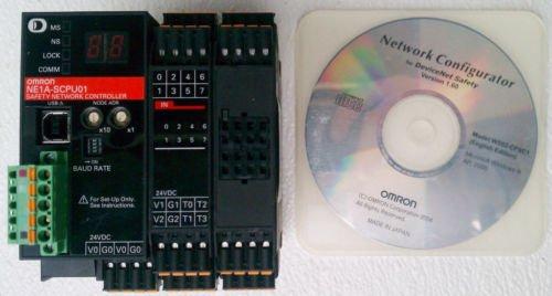 Omron NE1A-SCPU01-V1 Safety Network Controller 16 Input 8 Output 24 Volt DC