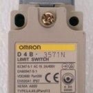 Omron D4B-3571N Roller Plunger Limit Switch 2A 400 Volt IP67 D4B-0071N Nema A600