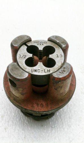 Ridgid 1/2 Pipe Threader Die # 13 UNC-LH