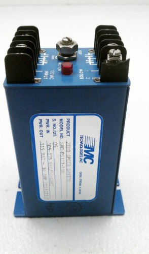MC Technologies SMC-PS127-A10 Zero Speed Switch 105-135 VAC- 115 VAC 10 Amp Res