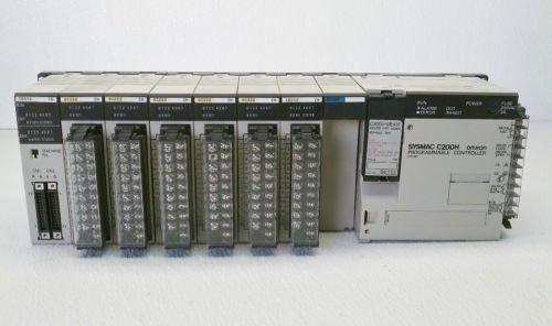 Omron C200H SYSMAC PLC CPU01-E Processor OC222 Output ID212 ID215 240-24 VAC