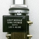 Square D 9001 KM-38 Series A Selector Switch 3 Position Maintained 120 VAC/VDC