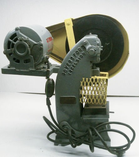 "Royersford Excelsior 1 Ton 1"" Manual  Belt Driven Press"