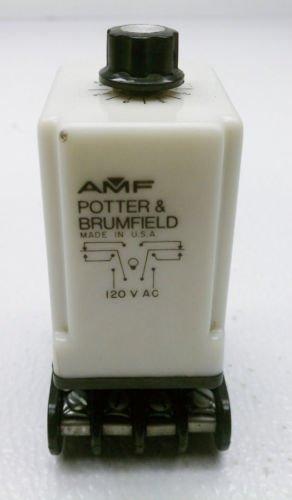 Potter & Brumfield CHB-38-70021 Time Delay Relay .1 Sec- 10 Sec. 120 V 10 Amp