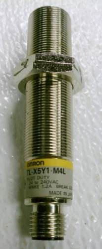 Omron TL-X5Y1-M4L Pilot Proximity Switch Sensor 24-240 VAC 1.2 A Make 0.2 Break