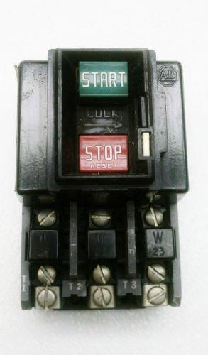 Allen Bradley 609 Aow Manual Start Stop Size 0 Motor
