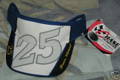 Chase Authentics Brian Vickers Visor