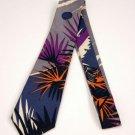 NWOT Gray/Silver Perry Ellis 100% Silk Tie