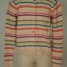 Gymboree Multi-Color Striped Button Down Sweater 9