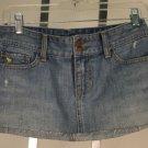 "Abercrombie and Fitch Mini Denim Skirt 30"" Waist"