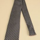 NWOT Bardelli Roma 100% Silk Tie Blue and Gray