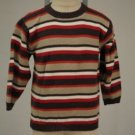 Chevignon Red, White, Brown Striped Cotton 5A Sweater