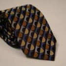 Michael Kors Tie - Brown Multi Geometric - NWT