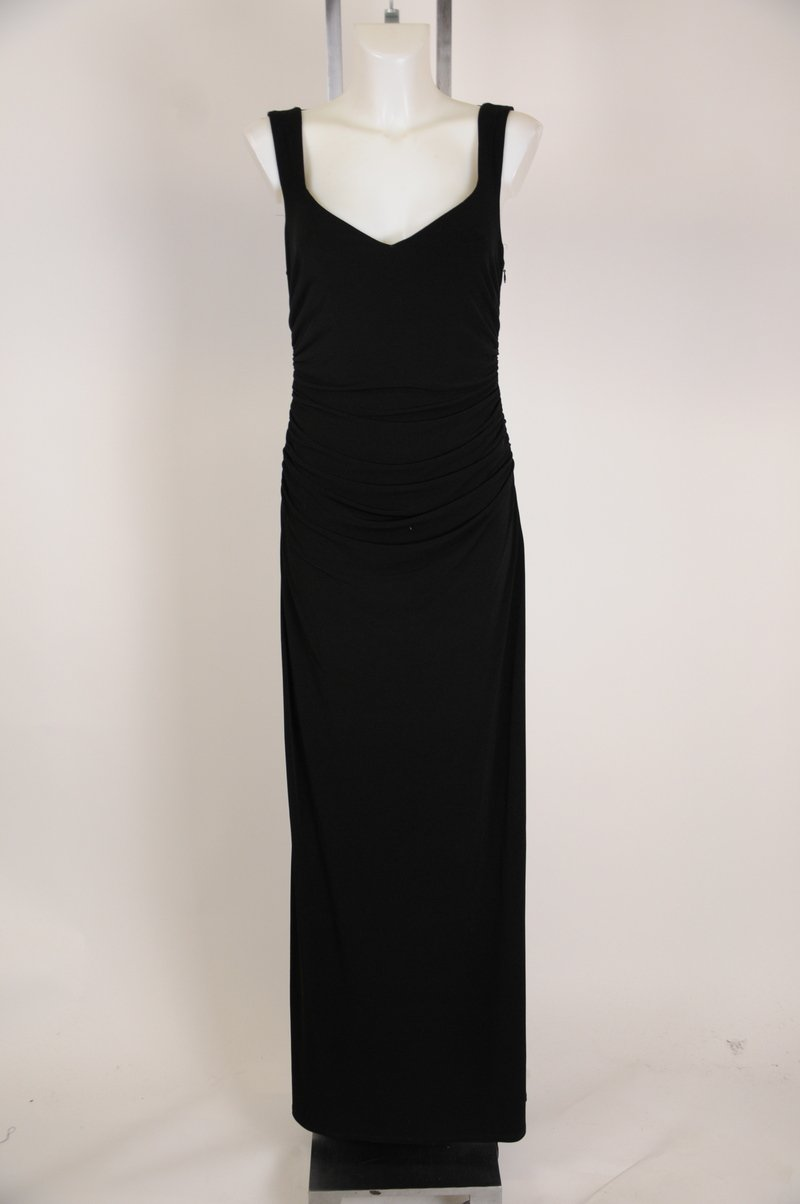 NWOT Laundry by Shelli Segal Los Angeles Black Maxi Dress  Size 10