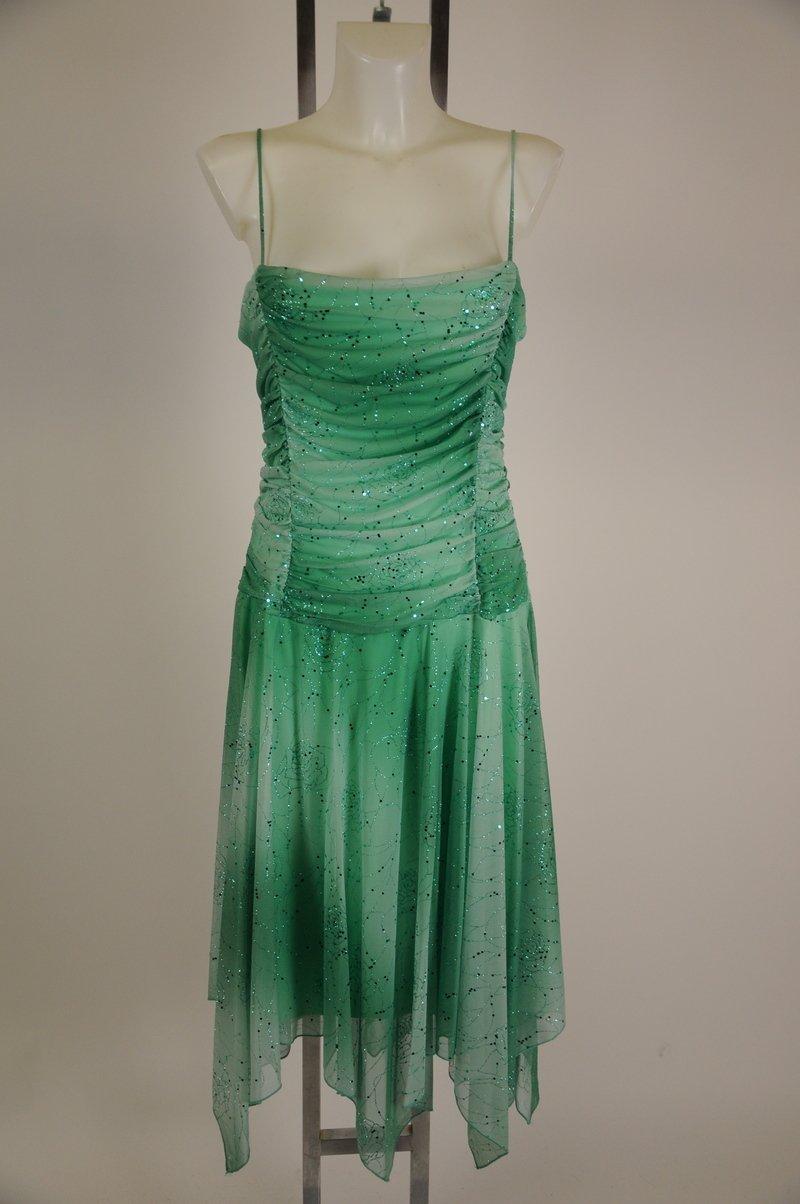 College Road Trip Screen Worn Dress Old Ladie #2 Joan Shepard COA