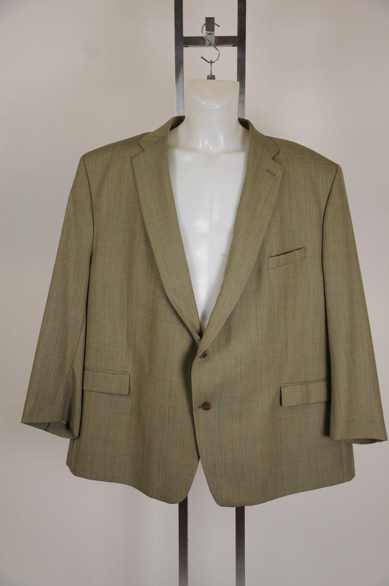 NWOT Lauren by Ralph Lauren Olive Color 100% Wool Size 60 Reg Blazer