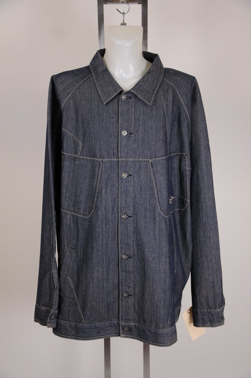 NWOT Sean John 5XL Tall Jean 100% Cotton Denim Jacket Hip Hop 'Big Dre'