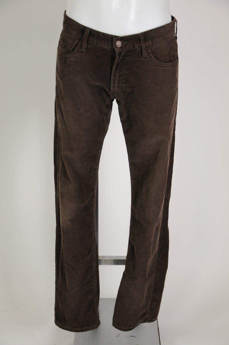 Levi's Slim Straight 514 Brown Corduroy Size 30/32 Pants