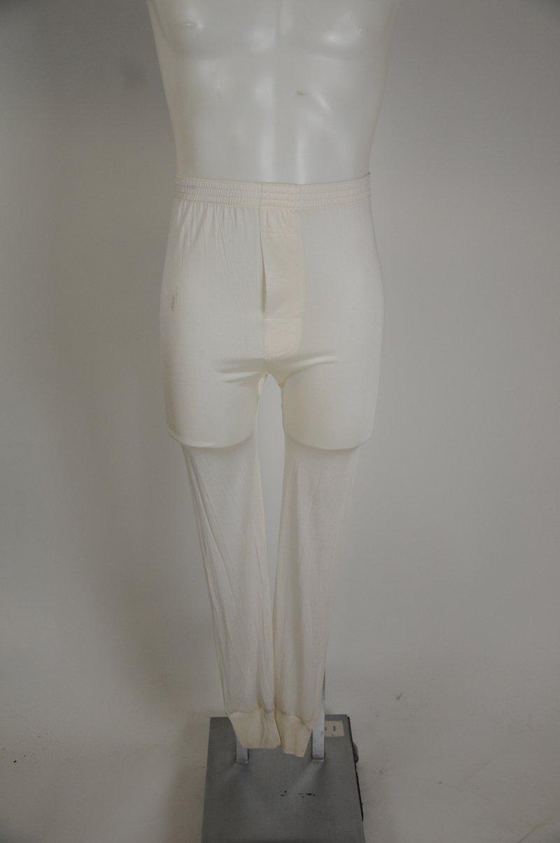 Winter SIlks White Size Small 100% Silk Long Johns Thermal Underwear
